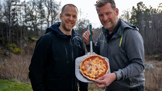 Bakar pizza med Janne Blomqvist och installerar laddbox