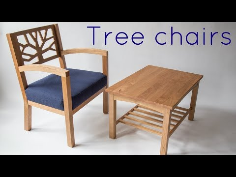 Making the tree chair set