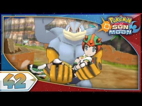 Pokémon Sun And Moon - Part 42 | Machamp! [NEW Nintendo 3DS 100% Walkthrough]