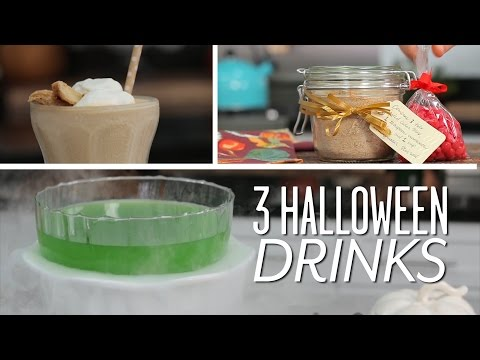 3 Easy Halloween Drink Recipes | Party Tips
