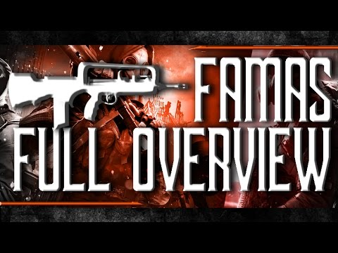 FAMAS Great New Gun FULL OVERVIEW - The Division