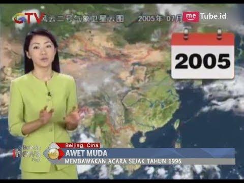 Video Viral!! Wajah Presenter di Cina Tak Bertambah Tua Selama 22 Tahun Bawakan Acara - BIP 16/03