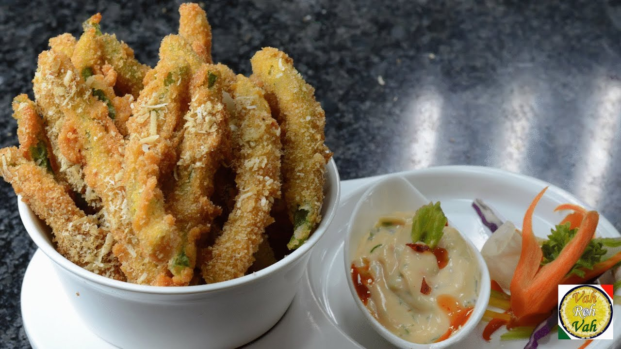 Easy deep fried green bean recipe