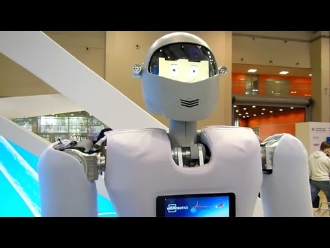 Andronavt - Russian humanoid robot for space missions