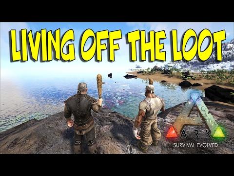 """Living Off The Loot"" #1 | Ark: Survival Evolved (Hod's Server))(60fps)"