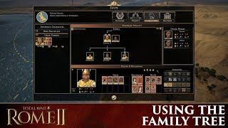 Total War: Rome 2 - How the Family Tree works