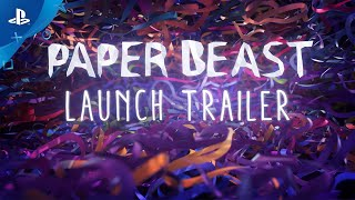 Paper Beast - Launch Trailer | PS VR