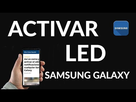 Cómo Activar la Luz Led de Notificaciones de Samsung