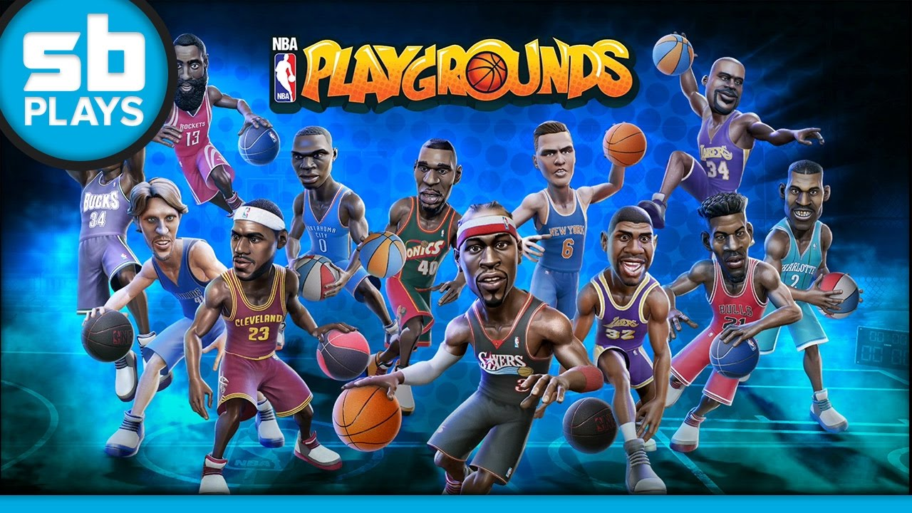 NBA Playgrounds - Online Gameplay (PS4)