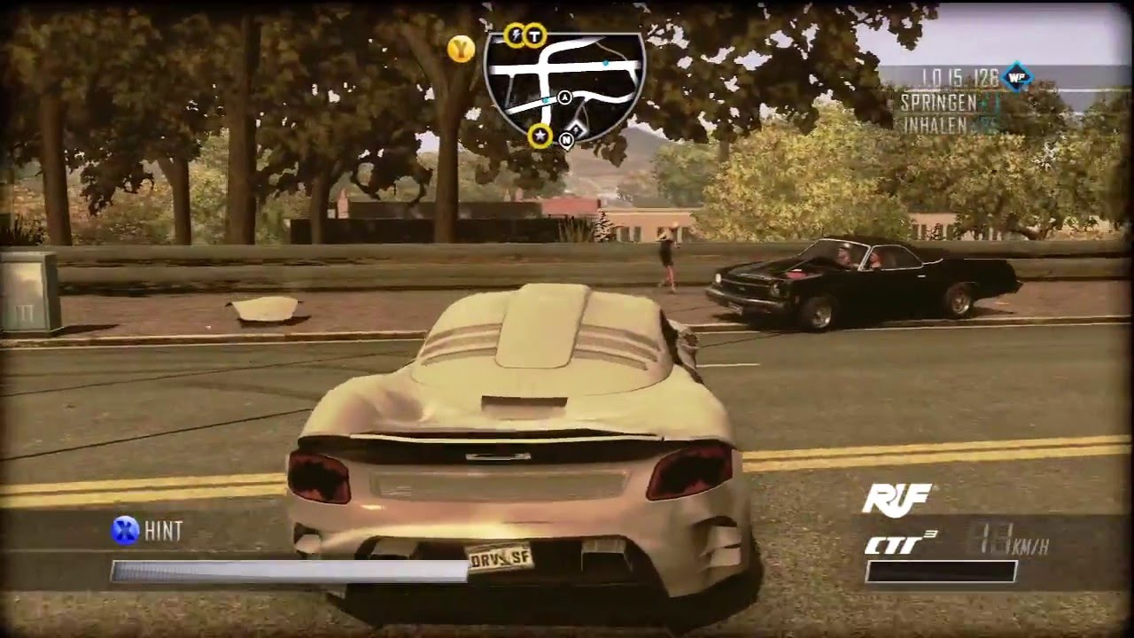 driver san francisco ruf ctr 3 free roam gameplay 2. Black Bedroom Furniture Sets. Home Design Ideas