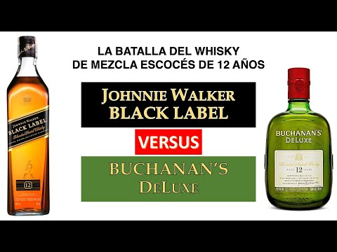Hablemos de JW Black Label vs Buchanan's Deluxe