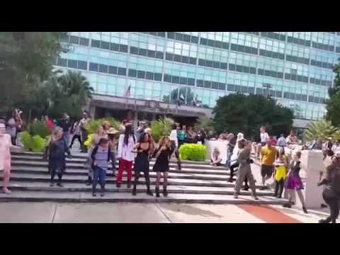 National Dance Day Flashmob New Orleans Jason Derulo Will You