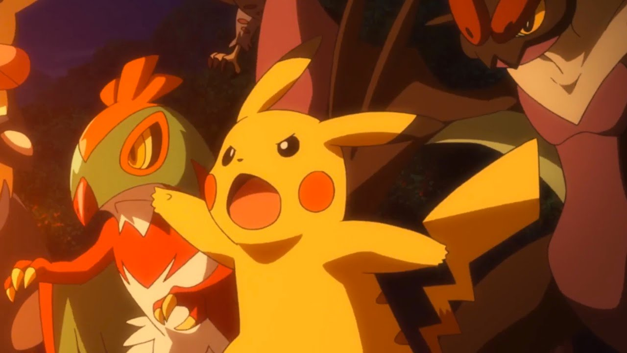 Pokemon The Movie Volcanion And The Mechanical Marvel Official