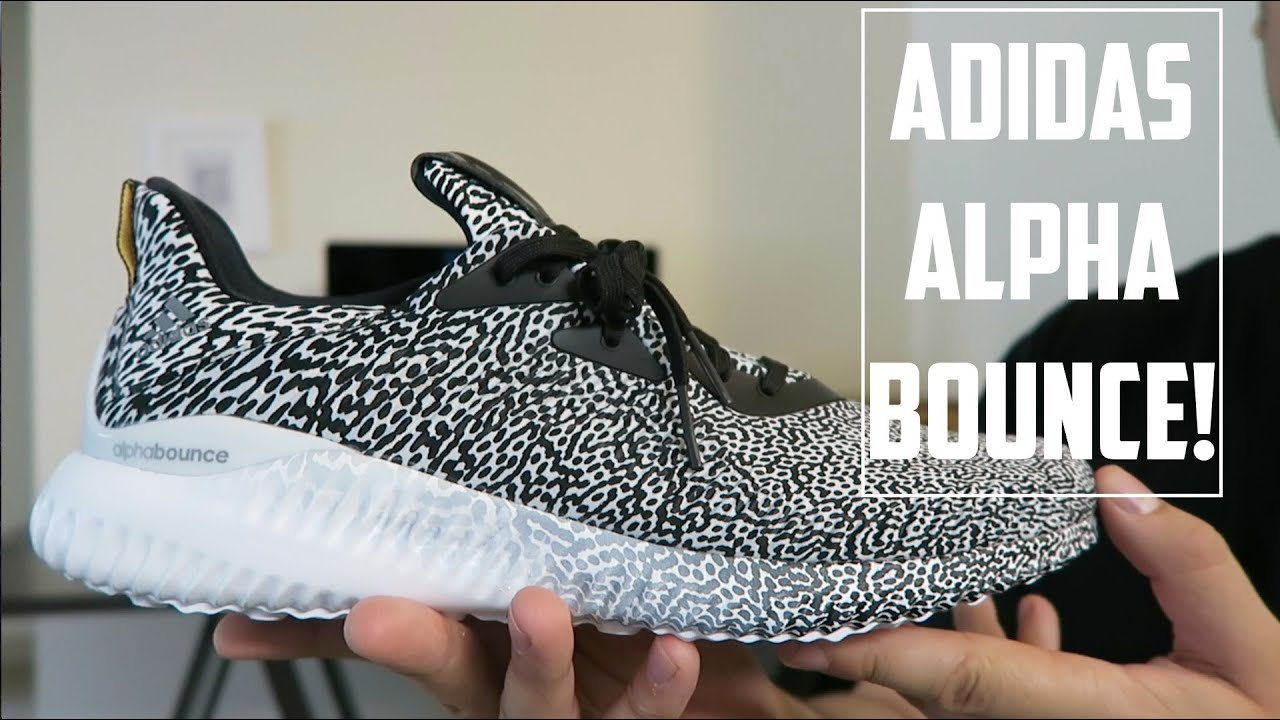 e911aa2a92b3a adidas ALPHA Bounce Performance Overview + On Foot! - YouTube