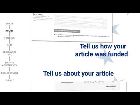 How to submit your research to Open Research Europe