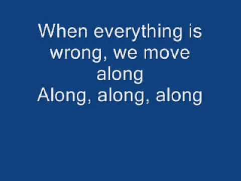 The All American Rejects -  Move Along (With Lyrics)