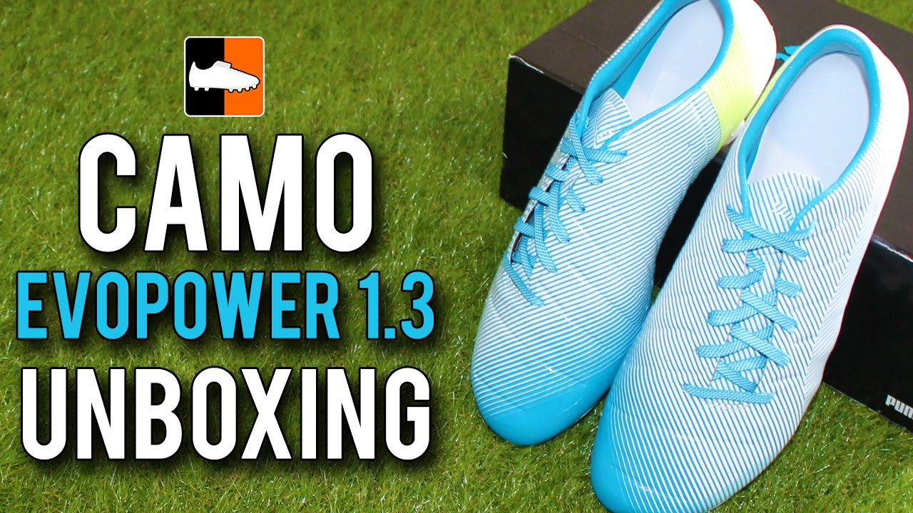 8497b9f2a6a7 CAMO evoPOWER 1.3 Unboxing - Third Generation PUMA Power Boots - YouTube