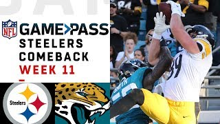 Every Play from Steelers Comeback vs. Jaguars | NFL Condensed Game