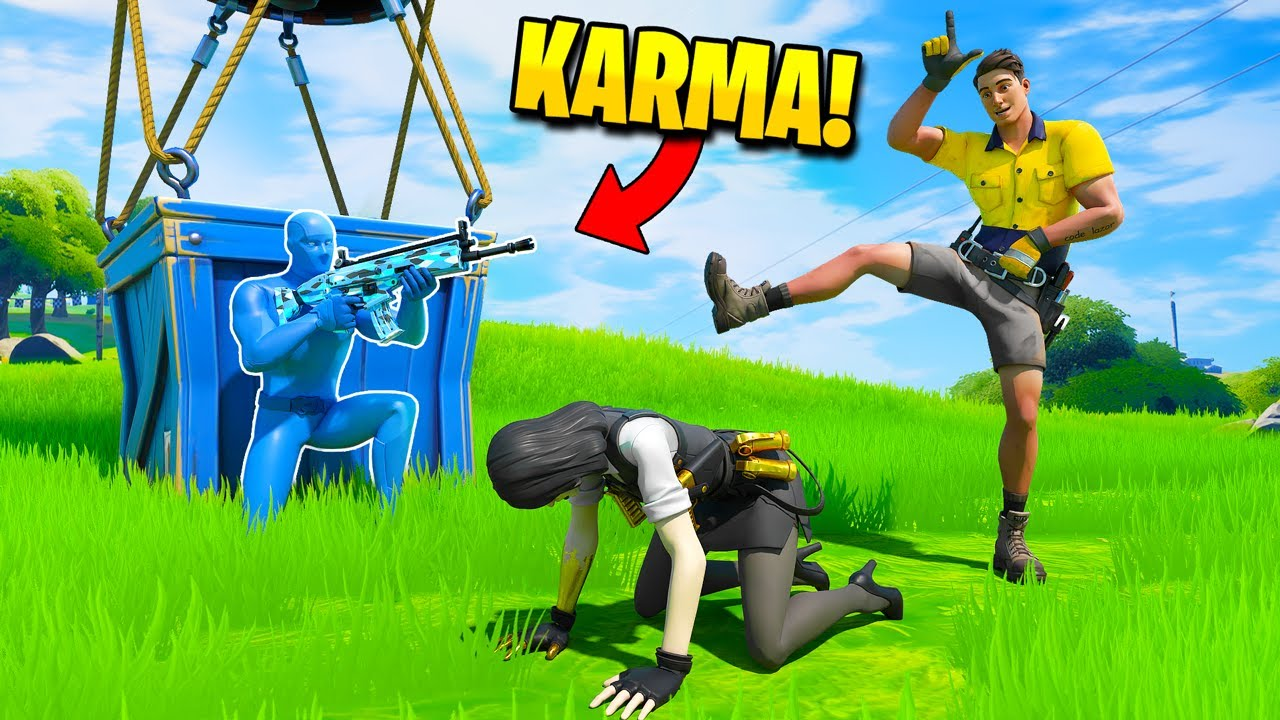TOP 100 INSTANT KARMA MOMENTS IN FORTNITE (Part 4)