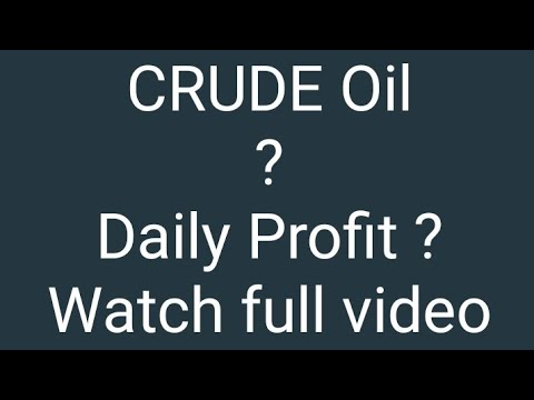 Crude Oil Trading | Like | Watch Full Video