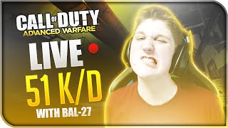 live 51 k d ratio bal 27 new account beast mode cod aw