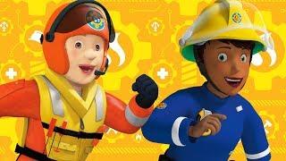Sam el Bombero en Espanol : Día de la mujer \ Penny y las mujeres bombero 🔥 Dibujos animados