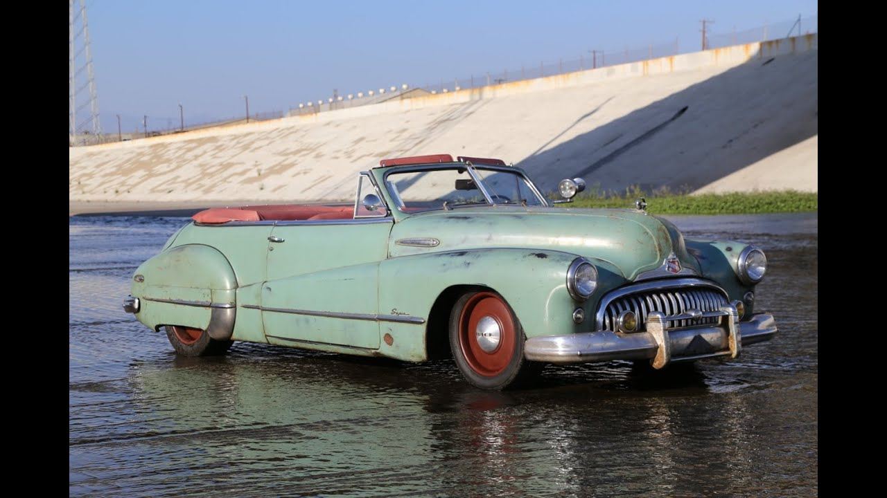 1948 Buick Super Icon Derelict Convertible Youtube