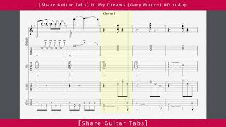 [Share Guitar Tabs] In My Dreams (Gary Moore) HD 1080p