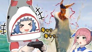 【サメゲー】姉に人食いザメのゲームをやらせたら怖すぎた【Maneater】