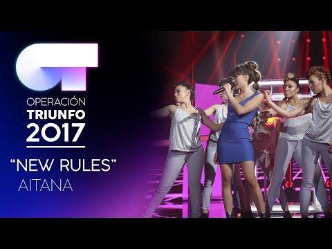 NEW RULES - Aitana | Gala 7 | OT 2017