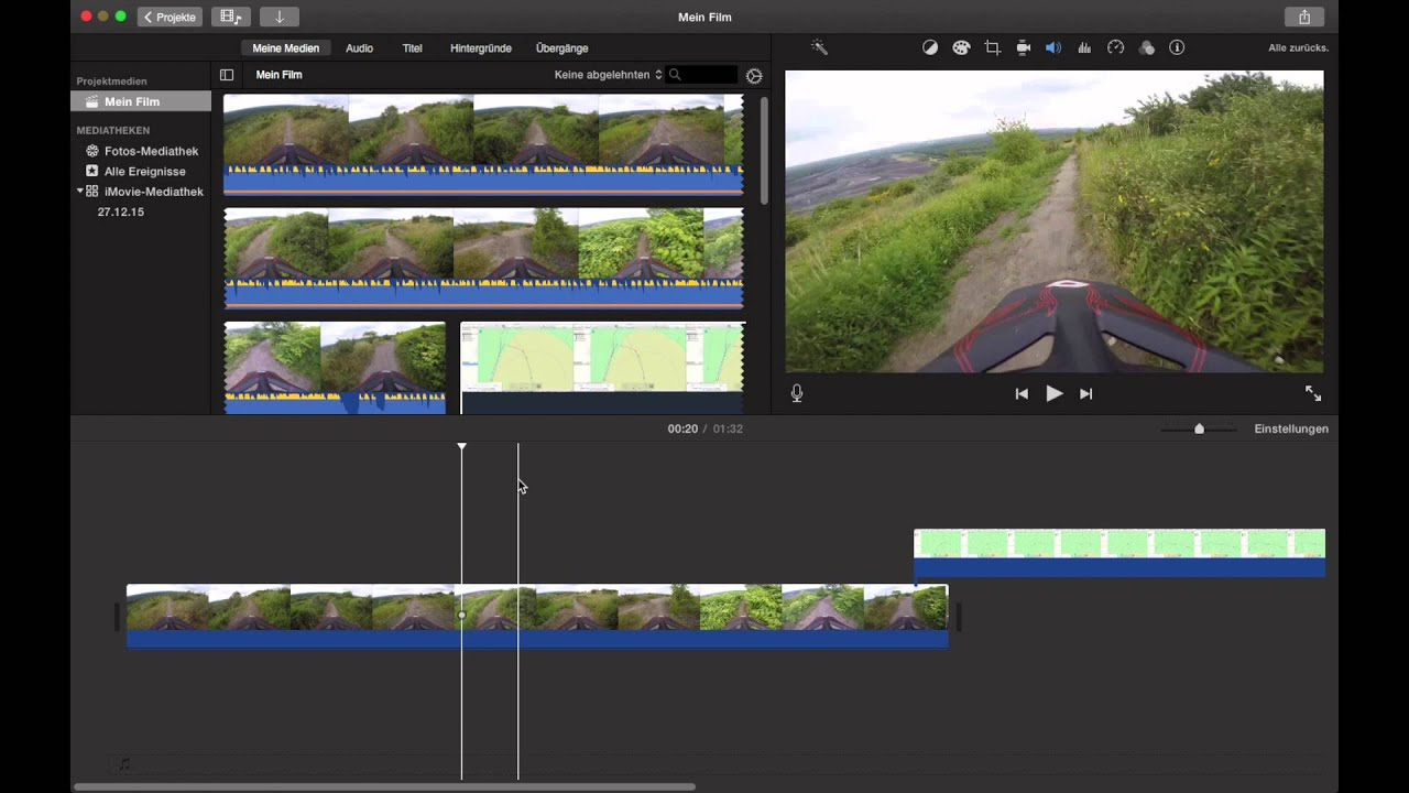 MiniMap in Videos einfügen (2/2) / iMovie Bild-in-Bild MAC OS ...