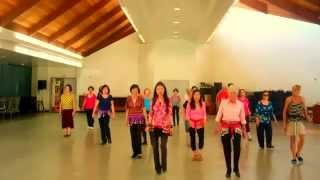 L- O- V- E - LINE DANCE (WALK THROUGH) By Kathy Chang (Jan 2014)