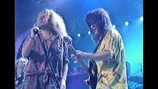 Van Halen 9-5-91 1st live TV performance with Sammy Hagar