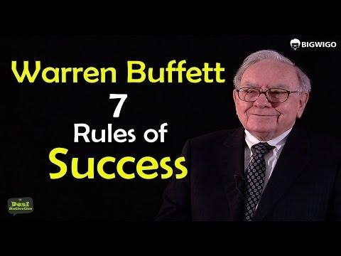 Warren Buffett 7 Rules of Success Inspirational Speech | Motivational Interviews | Investor