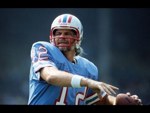 """Ken """"Snake"""" Stabler - The Oilers & Saints"""