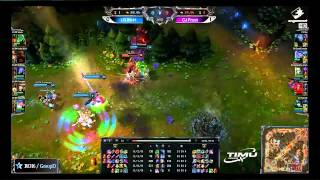 CJ Entus Frost vs LG IM Game 2 Certain death for Space, not so certain? Shy the Guardian Angel.