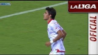Golazo de Perotti (1-1) en el Sevilla FC - Atlético de Madrid - HD