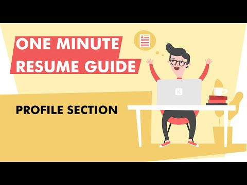 How To Write A Profile Section For Your Resume In 2020 [Example Included]