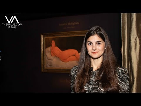 拍賣史上最貴《裸女》!專訪蘇富比 US$1.5億何來?  Interview with Sotheby's Representatives on Modigliani's Nude Painting