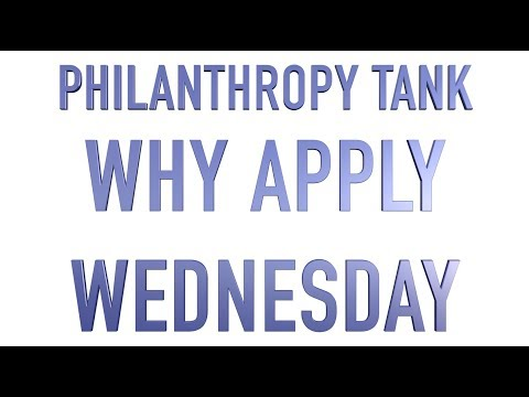 Philanthropy Tank: WHY APPLY WEDNESDAY - SURFACE 71