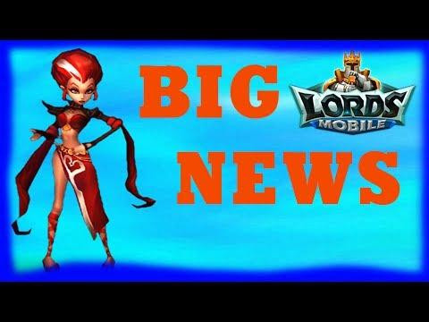 Lords Mobile BIG NEWS