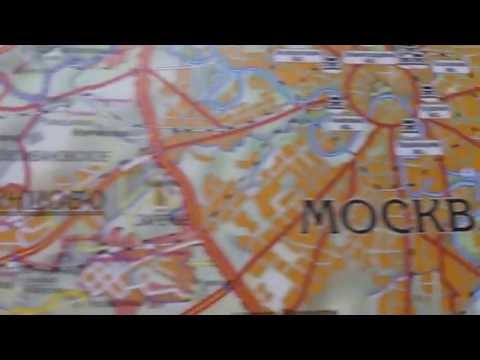 Смотрим на огромную карту Московской Области
