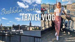 A Day in Stockholm, Sweden // Travel Vlog