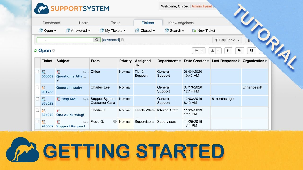 Osticket Support Ticketing System