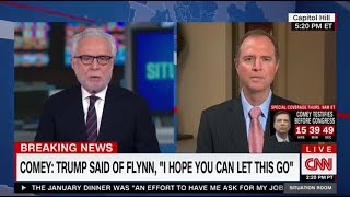 Rep. Schiff on CNN: Comey Testimony Raises Serious Concerns about Obstruction