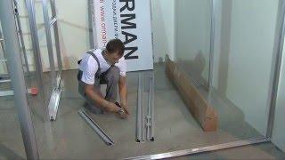 видео Стеклянные офисные перегородки