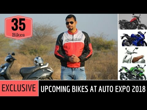 2018 Auto Expo India: Upcoming Bikes & Scooters (Exclusive Details)