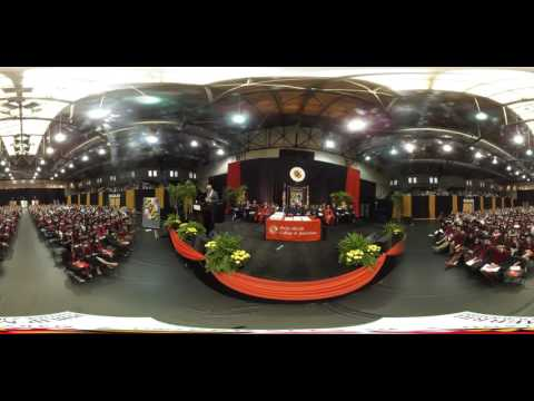 UMD Merrill College Graduation 2016 - Scott Van Pelt and Lucy Dalglish