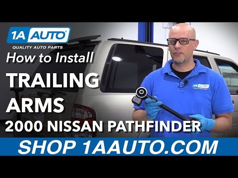 How to Replace Rear Upper Trailing Arms 97-04 Nissan Pathfinder