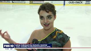 Chandler's Karina Manta in Cirque du Soleil's AXEL,  Fox 10 News